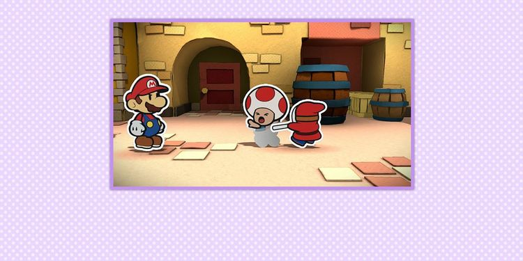 Picture shown with the fifth question in Paper Mario: Color Splash Trivia Quiz