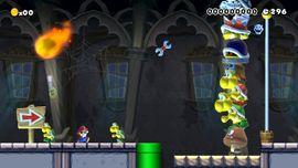 Attack Stack level in Super Mario Maker
