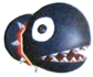 Artwork of the Chain Chomplet enemy in Super Mario Sunshine.