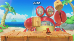 Smash and Crab from Super Mario Party.