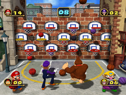 Three Throw from Mario Party 4