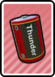 A Battery Card in Paper Mario: Color Splash.