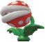 A Big Poison Piranha Plant in Super Mario Odyssey