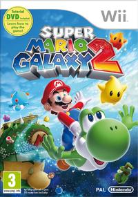 European box for Super Mario Galaxy 2