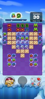 Stage 1036 from Dr. Mario World