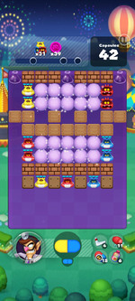 Stage 655 from Dr. Mario World