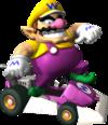 Wario artwork from Mario Kart DS