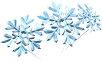 Snow Crystals from Mario Kart Tour