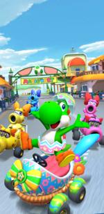The 2020 Yoshi Tour from Mario Kart Tour