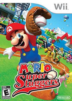 North American boxart of Mario Super Sluggers
