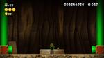 Luigi sighting in The Walls Have Eyes from New Super Luigi U