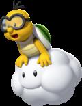 Lakitu in New Super Mario Bros. U