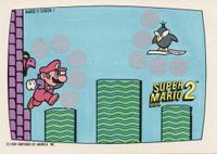 A Nintendo Game Pack scratch-off game card of Super Mario Bros. 2 (Screen 1 of 10)