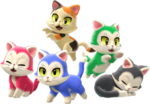 SM3DWBF Cats Art.png