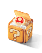? Block Tiramisu from Super Nintendo World