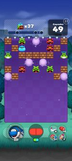 Stage 140 from Dr. Mario World since version 2.0.0