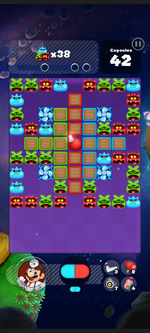 Stage 314 from Dr. Mario World