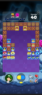 Stage 503 from Dr. Mario World