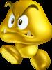 Gold Goomba artwork from New Super Mario Bros. 2