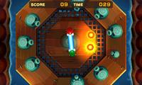 The Chuckola Bounce minigame in both versions of Mario & Luigi: Superstar Saga