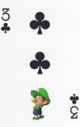 The Three of Clubs card from the NAP-03 deck.