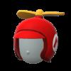 "The ""Propeller Mario Helmet"" Mii headwear"