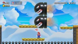 The Super Mario Maker 2 Story Mode level Little Toad Lost.