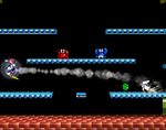 Sidesteppers as they appear in Super Smash Bros. Brawl