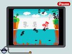 A screenshot of the T. Bridge mini-game.