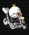 King Boo's Wario Bike
