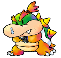 Baby Bowser's art for Yoshi's Island: Super Mario Advance 3