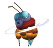 A Bee from Donkey Kong Jungle Beat.