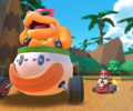 The icon of the Roy Cup challenge from the 2019 Paris Tour in Mario Kart Tour