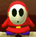 Shy Guy as viewed in the Character Museum from Mario Party: Star Rush