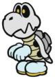 Dry Bones sprite from Paper Mario: Color Splash