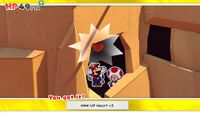 MAX UP Heart +5 from Autumn Mountain in Paper Mario: The Origami King