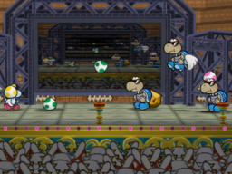 Mini-Egg in the game Paper Mario: The Thousand-Year Door.