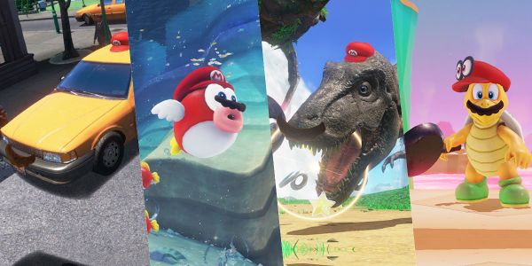 """Banner for a Play Nintendo opinion poll on the """"silliest capture"""" in Super Mario Odyssey. Original filename: <tt>2x1-SMO_poll_1.0290fa98.jpg</tt>"""
