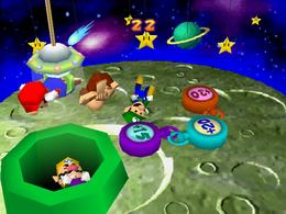 The Mario Party 2 version of Crane Game