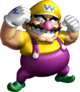 Artwork of Wario in Super Mario 64 DS.