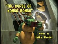 The Curse of Kongo Bongo title screen
