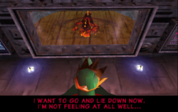 Dogadon complains to King K. Rool.