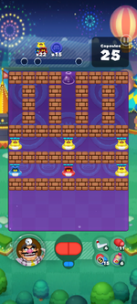 Stage 657 from Dr. Mario World