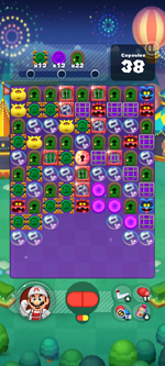 Stage 679 from Dr. Mario World