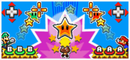 A demonstration of the Falling Star attack.