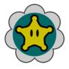 Baby Rosalina emblem from Mario Kart 8