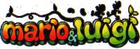 Original English logo for Mario & Luigi: Superstar Saga