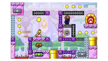 Miiverse screenshot of the 87th official level in the online community of Mario vs. Donkey Kong: Tipping Stars