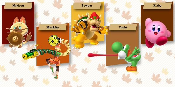 Banner for a Play Nintendo opinion poll on characters who have a big appetite. Original filename: <tt>2x1_Holiday_2017_poll_1_AdWtZdy.0290fa98.jpg</tt>