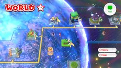 World Star from Super Mario 3D World